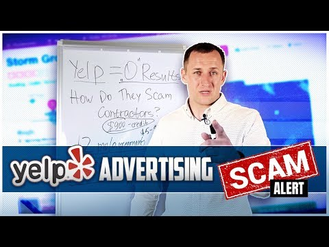 Yelp Advertising Scam Alert: must Watch Before signing up for Yelp