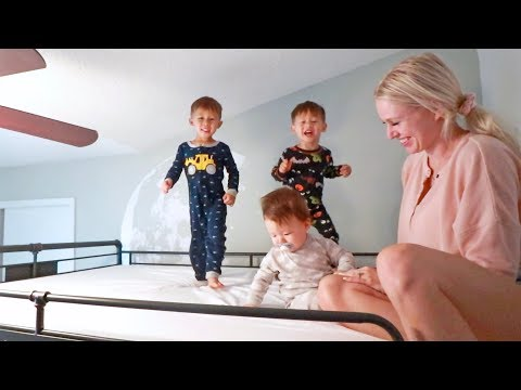 We Bought Our Boys Bunk Beds!