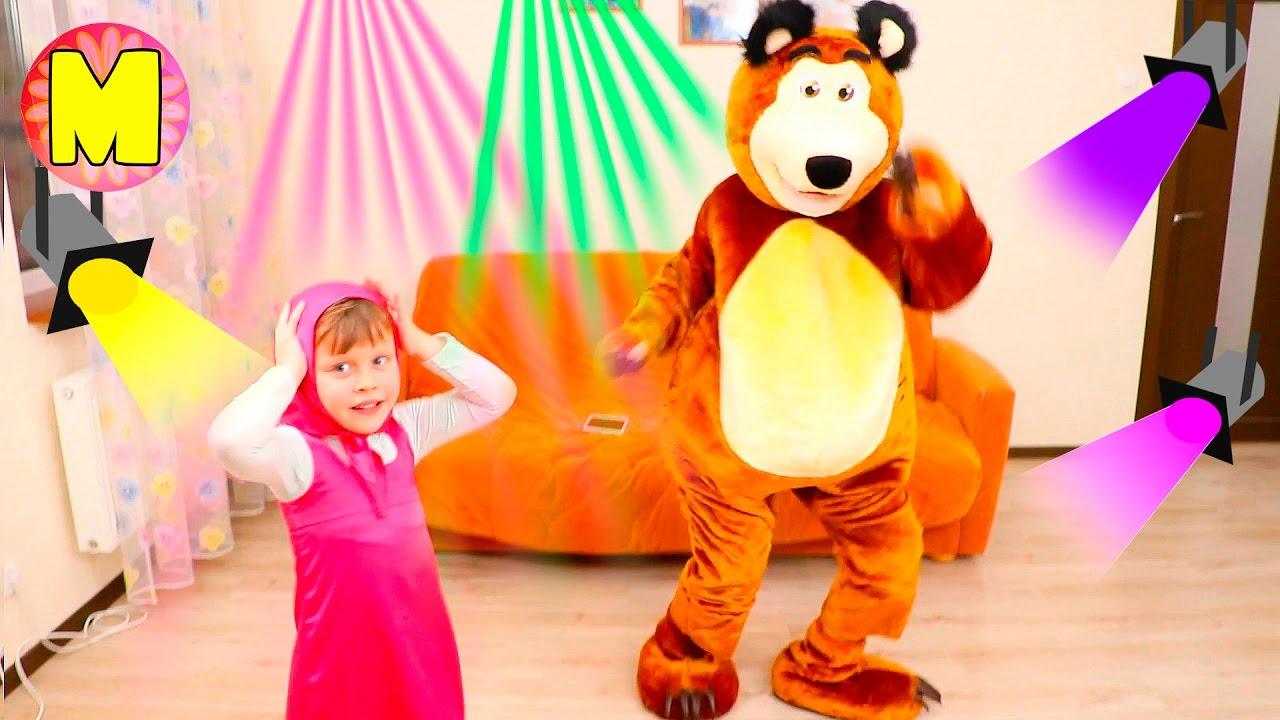 Маша и Медведь танцуют Новая Серия