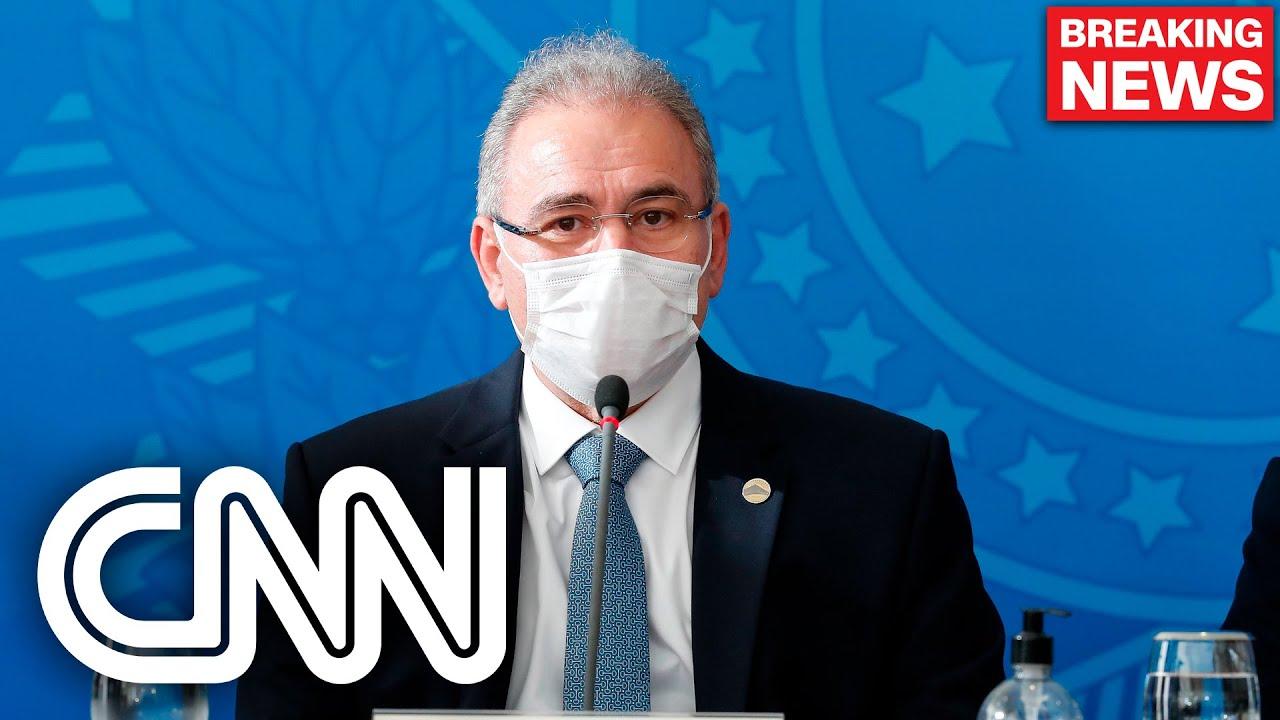 Download Ministro Marcelo Queiroga testa positivo para Covid-19 | JORNAL DA CNN