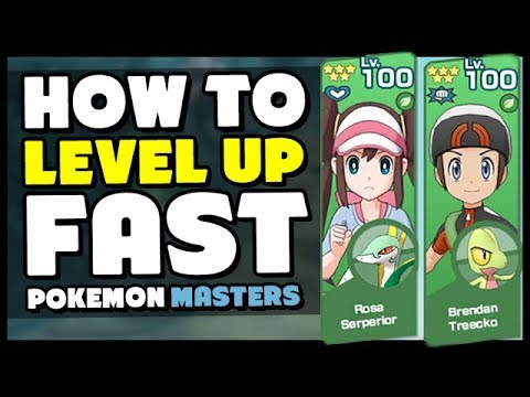 How To Level Up FAST And INCREASE LEVEL CAP In Pokemon Masters