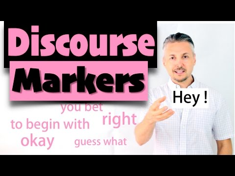 Discourse markers