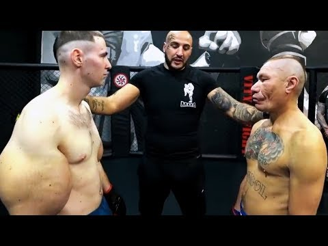 Top 20 Small vs Big Fighters knockouts in MMA