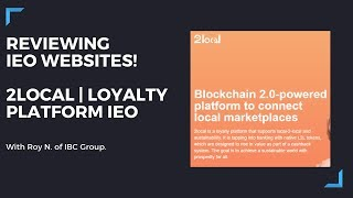 Crypto Initial Exchange Offerings (IEO) Review 2020 | 2Local Site Review