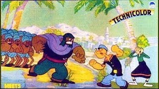 Popeye rencontre Ali Baba et les 40 voleurs - Cartoon en francais thumbnail