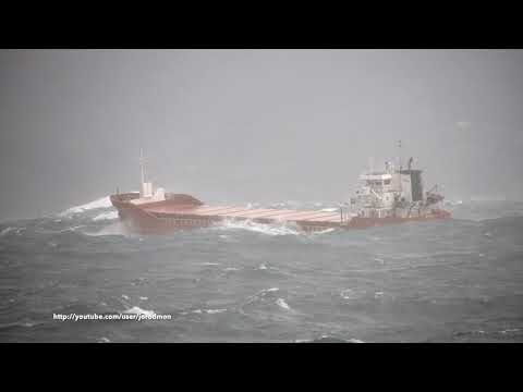 General Cargo Vessel WAALDIJK outbound A Coruña [4K]