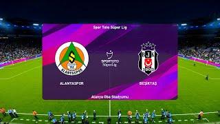 Alanyaspor vs Bestikas   2019-20 Süper Lig   PES 2020