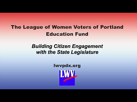 Building Citizen Engagement with the State Legislature