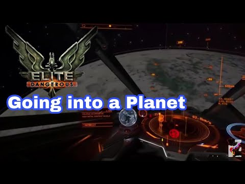 Elite Dangerous: Entering a Planet!