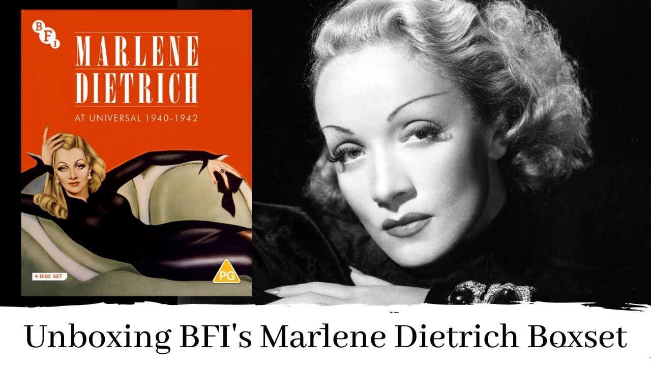 Download Blu Ray Unboxing Marlene Dietrich at Universal 1940-1942   BFI Limted Edition
