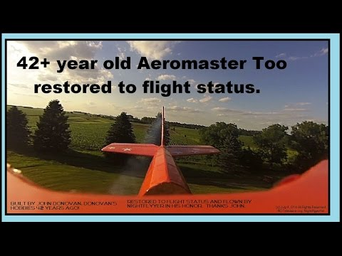 Antique Aeromaster Too Restored To Flight Status And Flown By NightFlyyer.