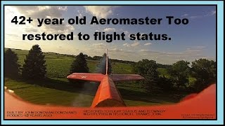 antique aeromaster too restored to flight status and flown by nightflyyer