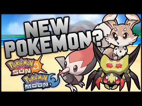 NEW POKEMON In Pokemon Sun and Moon!