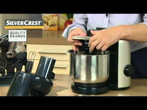 w 550 silvercrest test küchenmaschine
