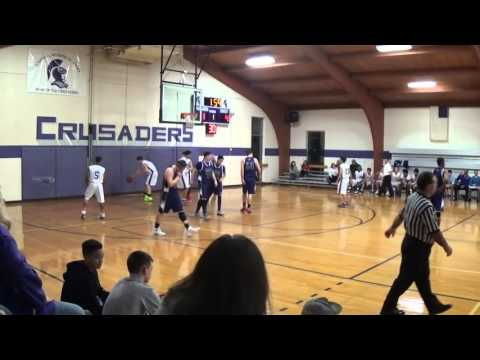 NB Boys Basketball vs South Lancaster Academy (12-14-15)