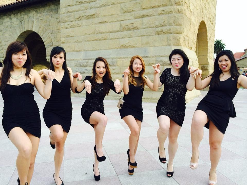 Asian sorority girls