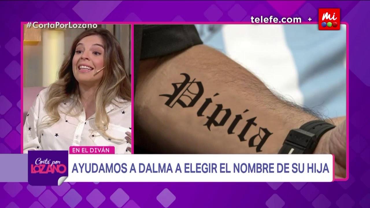 ¿Cómo se va a llamar la hija de Dalma Maradona? - Cortá ...