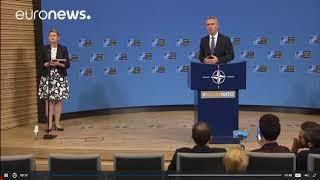 Генеральный секретарь НАТО Йенс Столтенберг о России