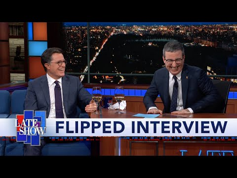 Flipped Interview: John Oliver