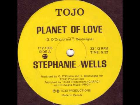 STEPHANIE WELLS - Planet Of Love (Original Maxi Ve...
