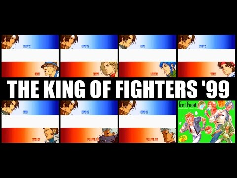 [END] 草薙京(KUSANAGI Kyo) - THE KING OF FIGHTERS '99