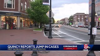 South Shore city blames COVID-19 uptick on community spread