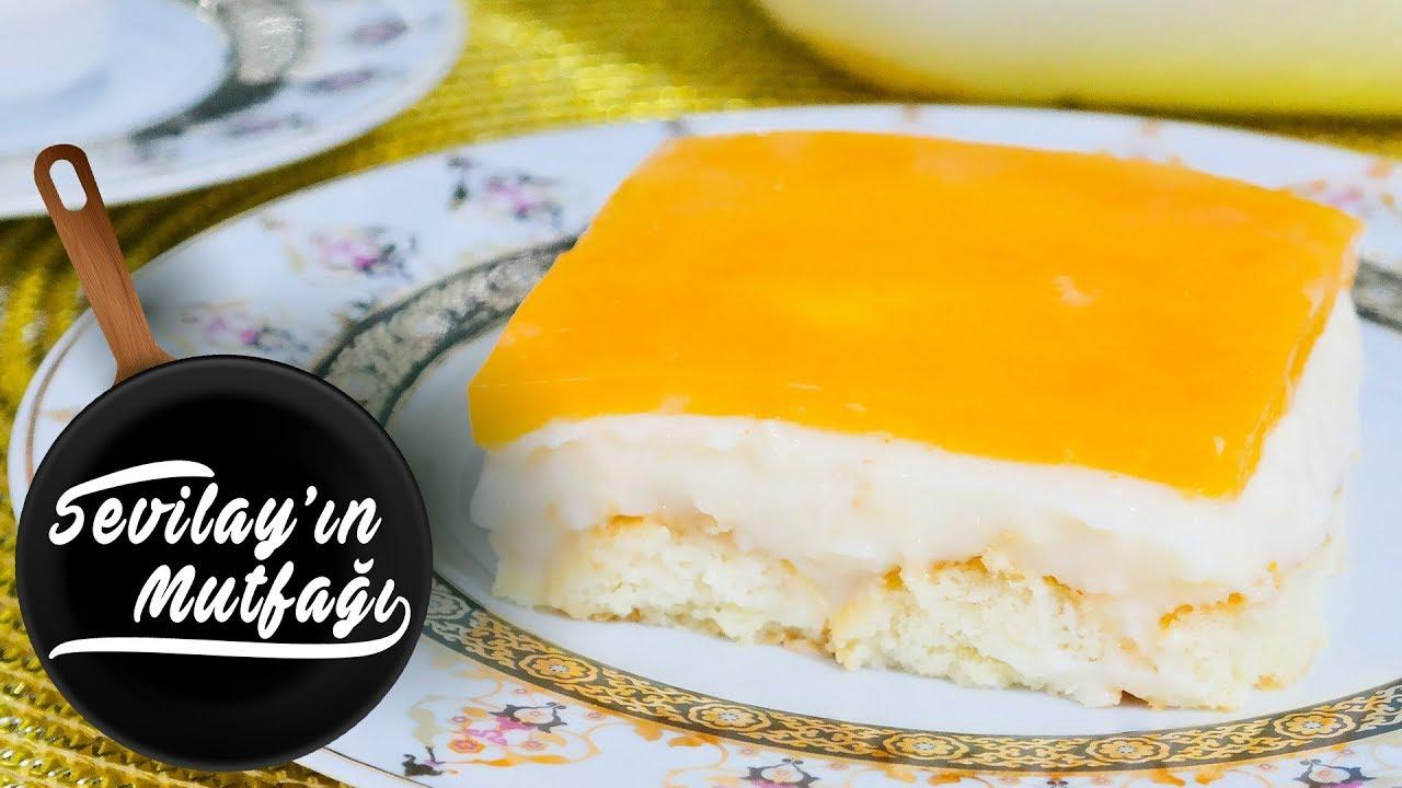 Portakallı Kedidili Pastası Tarifi
