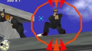 Virtua Cop 1 - Gameplay (Level 1 - Easy)