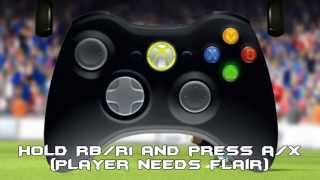 Fifa 13 - All Skills Tutorial w/ Controller animation (Xbox, PS3 & PC)