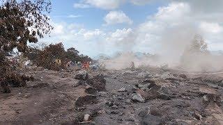グアテマラ噴火、「慣れてしまっていた」住民たちの後悔