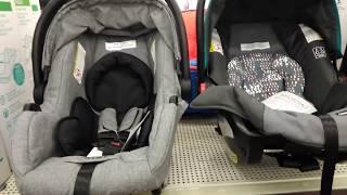 GRACO SNUGRIDE 30 & URBINI SONTI INFANT CAR SEATS