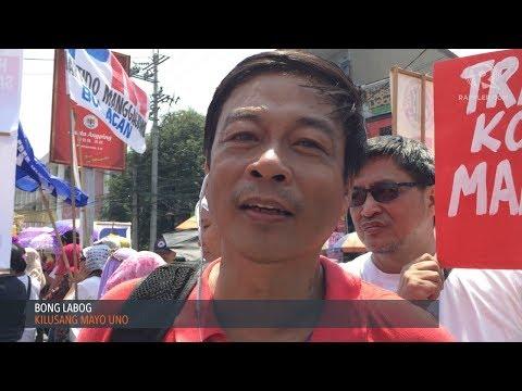 """Labor groups hit Duterte for """"failed"""" promises"""