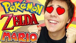 L'UNBOXING DE MES RÊVES (Zelda, Pokémon, Mario) - HitekBox