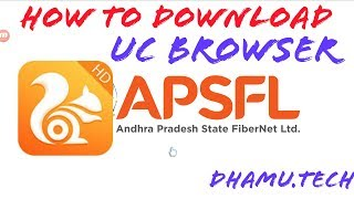 how to download uc browser in apsf |UCBROWSER IN AP FIBER SET TOP BOX screenshot 1