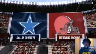 PRIMETIME CONNECTED FRANCHISE WEEK 9 | Rebuilding The Cleveland Browns | Cowboys Vs The Browns