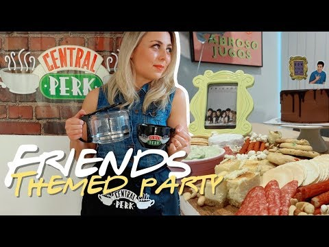 FRIENDS TV SHOW PARTY & RACHEL GREEN COSTUME