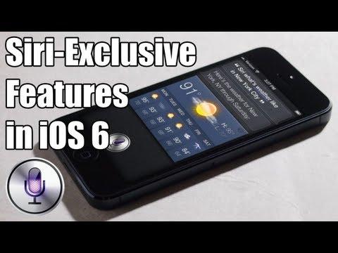 Siri Secret Features in iOS 6
