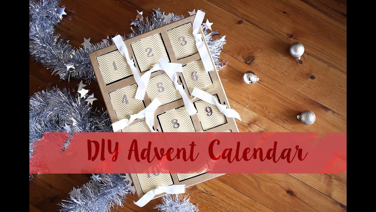 Diy Makeup Advent Calendar : Diy beauty advent calendar mademoiselle youtube