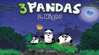 3 Pandas 2 Night Walkthrough All Levels HD