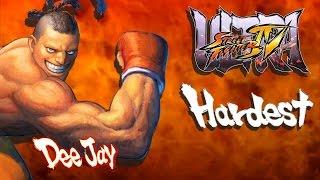 Ultra Street Fighter IV - Dee Jay Arcade Mode (HARDEST)