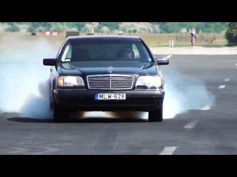 Mercedes W140 S700 AMG V12 Exclusive (0-300km) РАЗГОН