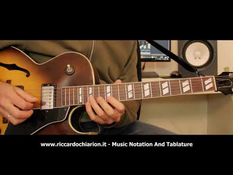 Jazz Guitar Etude #13 - Summertime