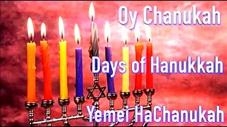 """Oy Chanukkah  Days of Hanukkah  Yemei HaChanukah   Hanukkah series """"Miracles""""   Cantor Rev Misha Joy"""