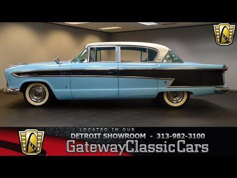1957 Nash Ambassador Stock # 1102-DET