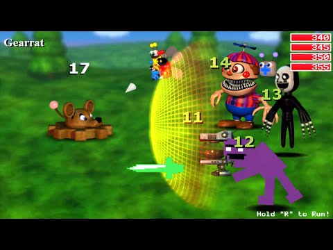 Five Nights at Freddy's (FNAF World) Update 2 Gameplay All Characters Gameplay Part 2