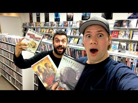 Movie Hunting : Out Of Print Blu-ray/Dvds And Vhs Tapes