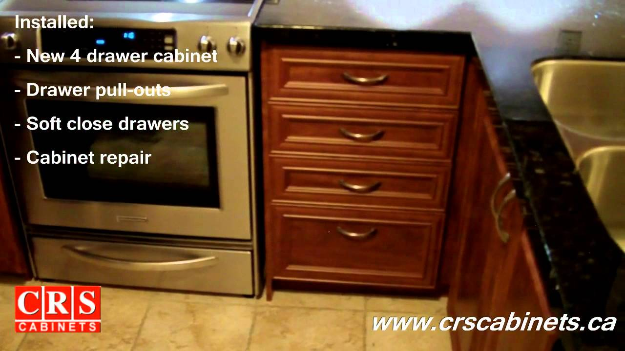 CRS Cabinets  Before  After  Summer Flame EL02 Style