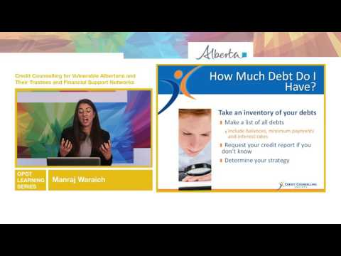 Credit Counselling for Vulnerable Albertans
