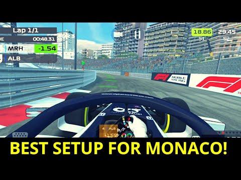 F1 Mobile Racing Best Setup for Monaco!