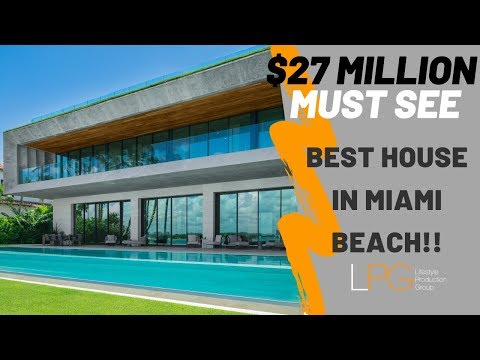 Property Showcase: THE BEST HOUSE IN MIAMI BEACH!?? - STEP INSIDE